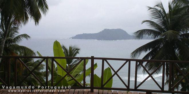 Playa paradisíaca en Sao Tomé