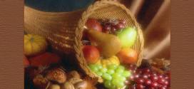 Cornucopia llena de frutos - Bendiciones
