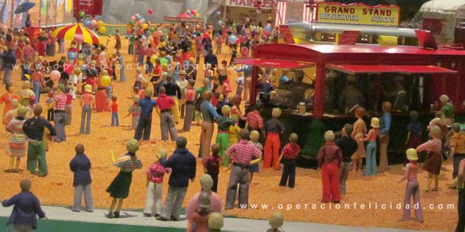 Foto Multitud a la entrada del Circo