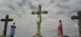Jesús Juan y María - imagen crucifixión