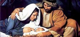 Navidad – Jesus en Pesebre, Maria y Jose
