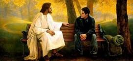 Jesús y joven – Relación con Dios