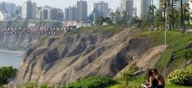 Peru - Vista de la ciudad desde el Parque